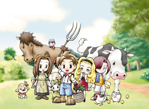 Игра Harvest Moon: The Tale of Two Towns выйдет в 3D
