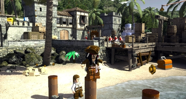 Видео игра лего пираты карибского