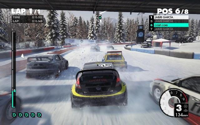 Автосимулятор DIRT 3 предлагает игрокам окунуться в атмосферу экстремальных
