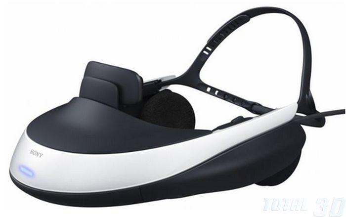 Sony предлагает персональный 3D-дислей HMZ-T1