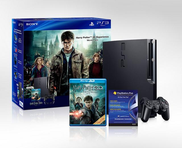 Новый комплект Harry Potter 3D Experience Movie Pack PS3