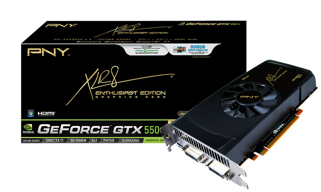 PNY GeForce GTX 550 Ti