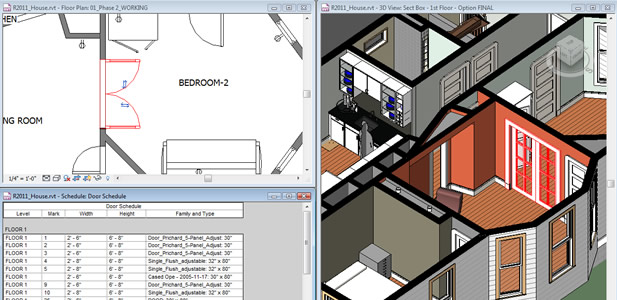 Программа Autodesk Revit Architecture