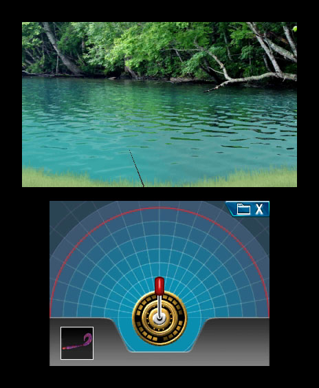 3D-игра Reel Fishing Paradise от Natsume