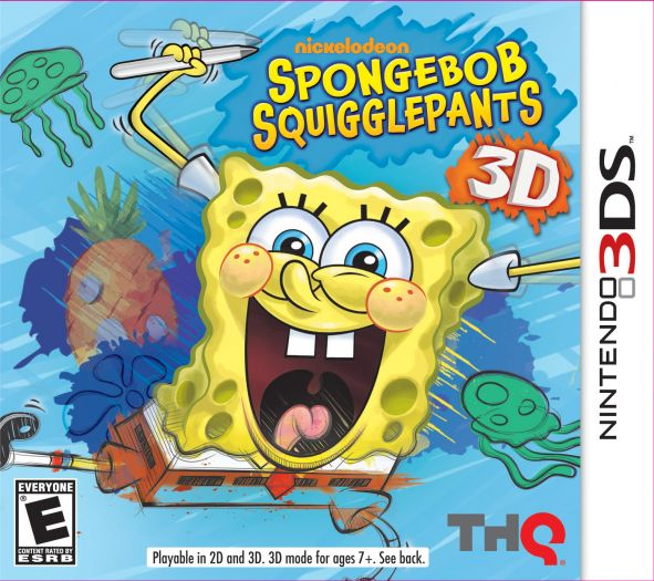 3D-игра SpongeBob SquigglePants для Nintendo 3DS