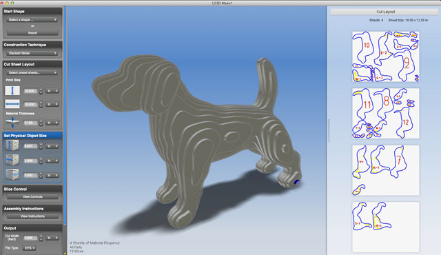 Autodesk 123D Catch и Make