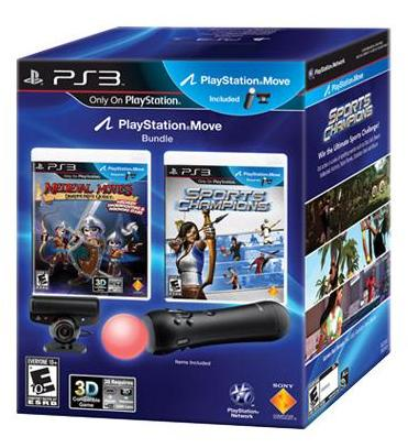 PlayStation Move Bundle по цене $100