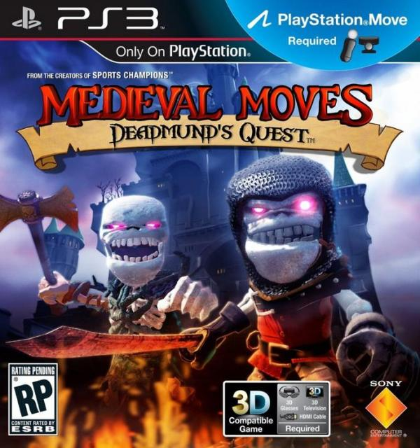 PlayStation Move Bundle с 3D-игрjq «Medieval Moves: Боевые кости»
