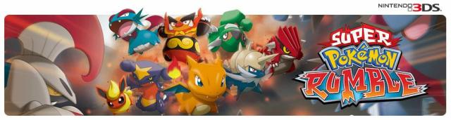 3D-игра Pokémon Rumble Blast для Nintendo 3DS