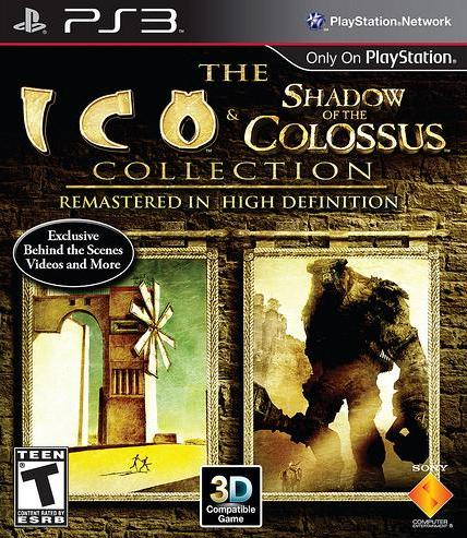 Коллекция 3D-игр ICO & Shadow of the Colossus