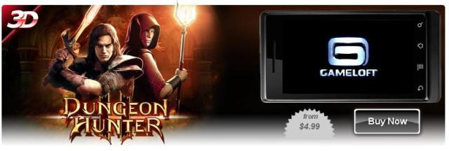 Dungeon Hunter 2 для LG P920 Optimus 3D