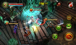 Dungeon Hunter 2 для LG P920 Optimus 3D в формате стерео 3D