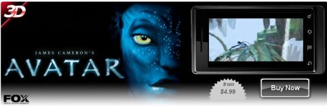 James Cameron's Avatar для LG P920 Optimus 3D
