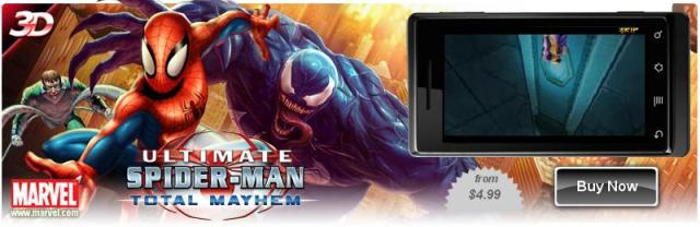 Spider-Man: Total Mayhem для LG P920 Optimus 3D