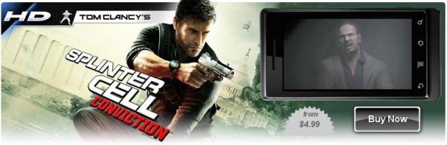Tom Clancy's Splinter Cell Conviction для LG P920 Optimus 3D