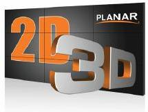 Integrated Systems Europe (ISE) 2012: Planar Systems представили технологию Clarity Matrix 3D