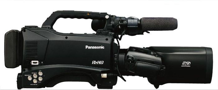 Panasonic AG-3DP1, вид сбоку