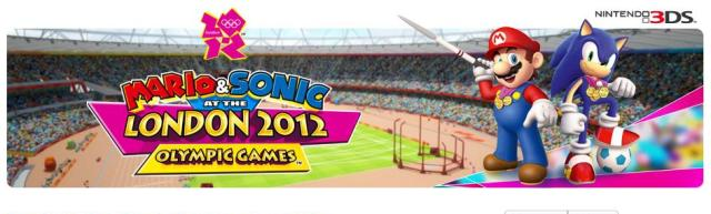 3D-игра Mario & Sonic at the London 2012 Olympic Games для Nintendo 3DS