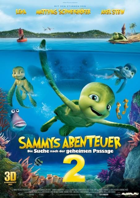 постер к 3d фильму Шевели ластами 2 в 3D