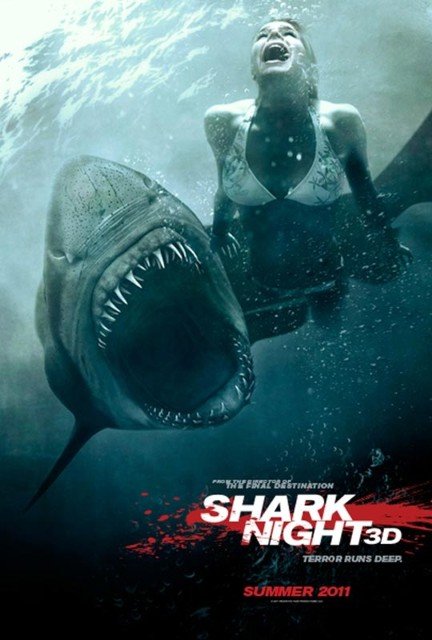 Челюсти 3D — Shark Night 3D