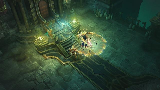 Скриншот 3D-экшена Diablo III
