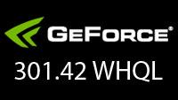 WHQL-сертифицированные драйверы NVIDIA GeForce 301.42