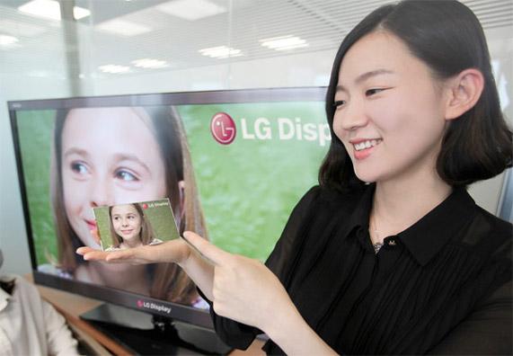 Full-HD на ладони: 5-дюймовый дисплей от LG
