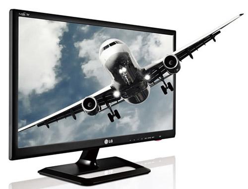 ТВ-монитор LG DM2752 c поддержкой 3D
