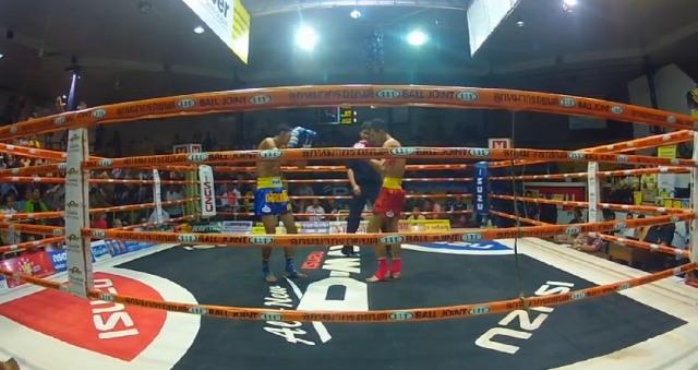 Тайский бокс снятый камерой GoPro HD HERO2