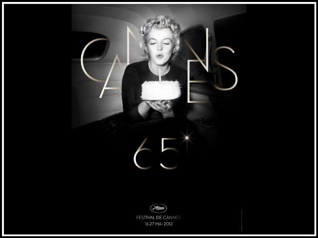 Мерлин Монро на постере 65-го Каннского фестиваля