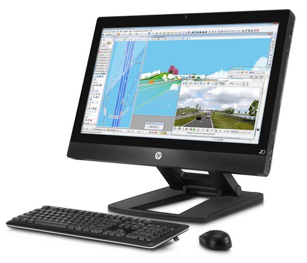 HP Z1- первая в мире рабочая станция в моноблочном корпусе