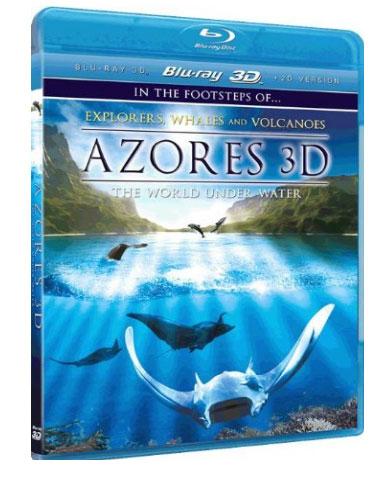 3D-фильм «Азоры 3D: Подводный мир» на дисках Blu-ray 3D