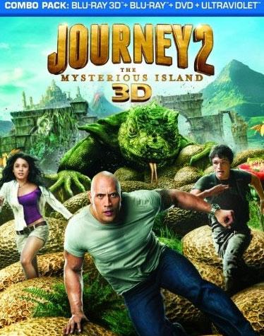«Путешествие 2: Таинственный остров» на дисках Blu-ray 3D