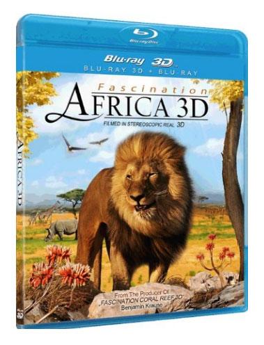3D-фильм «Очарование Африкой 3D» на дисках Blu-ray 3D