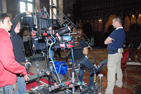 3D-триллер «Святой Дракула 3D» снимали на территории Манчестера