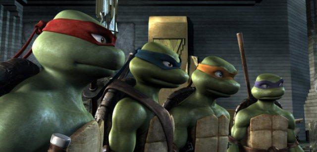 Paramount Pictures работает над 3D-мультиком «Черепашки-ниндзя»