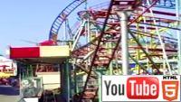 Американские горки: глазами очевидца в YouTube 3D
