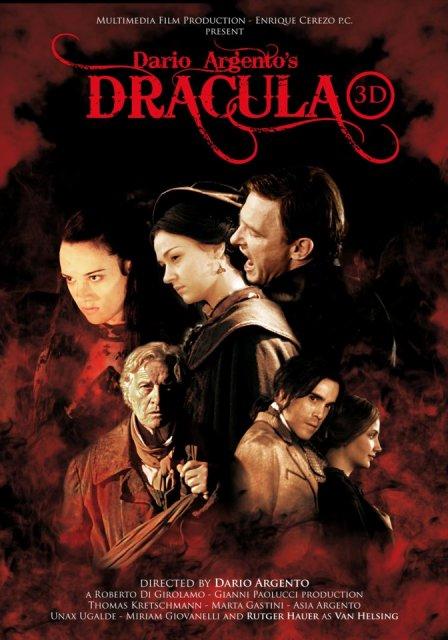 Постер к 3D-фильму «Дракула 3D» («Dracula 3D»)
