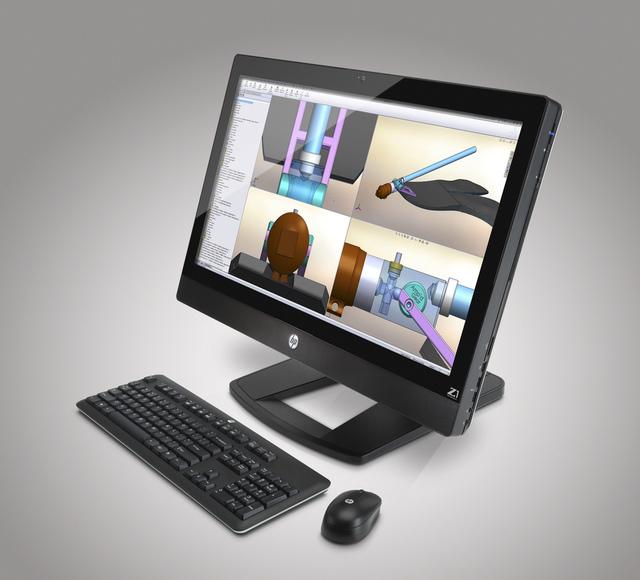 Компания HP объявила о начале продаж рабочих станций HP Z1 на рынке Европы