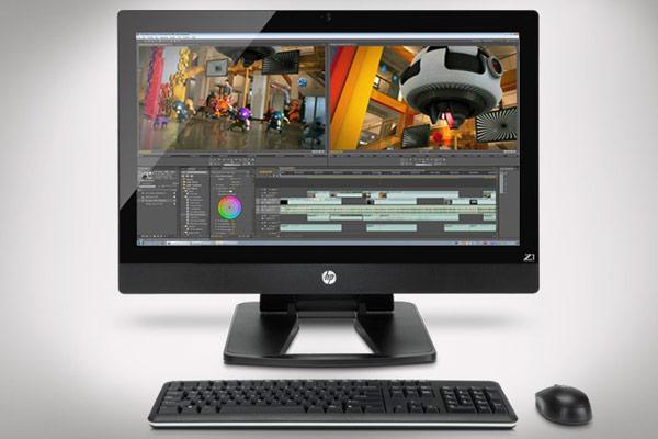 Модель HP Z1 создавалась специально для профессионалов в области САПР