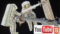 YouTube 3D-видео с международной космической станции