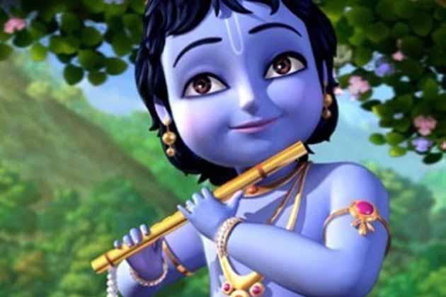 Главный герой 3D-мультика «Кришна против Кансы» – Кришна