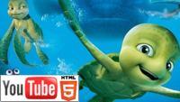 "YouTube стерео 3D-тизер к мультику ""Шевели ластами 2 3D"""