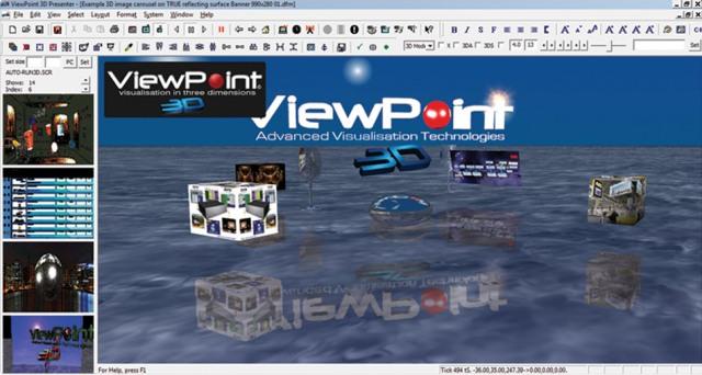 Автостереоскопические 3D-презентации в ViewPoint 3D Presenter