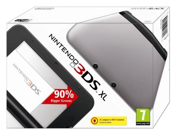 3D-консоль Nintendo 3DS XL