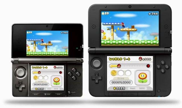 3D-консоли Nintendo 3DS и Nintendo 3DS XL