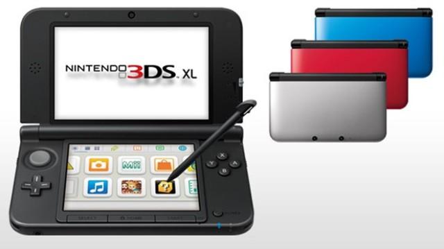 Nintendo 3DS XL в продаже с 28 июля