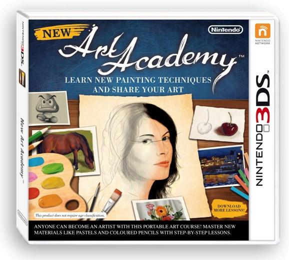 New Art Academy для Nintendo 3DS XL