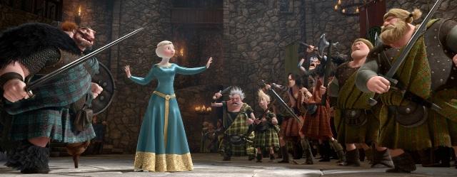 3D-мультик «Храбрая сердцем» (Brave): создание персонажей