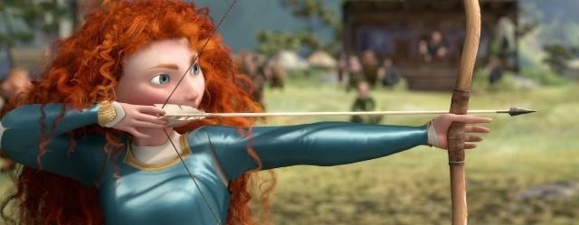 3D-мультик «Храбрая сердцем» (Brave): создание одежды